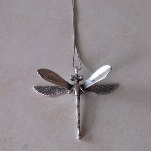 925 Silver Dragonfly